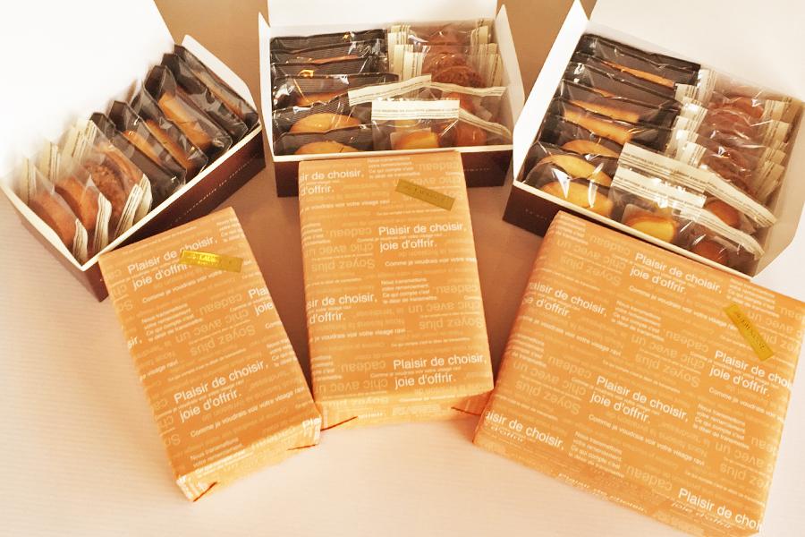 焼菓子詰め合わせギフトボックスのイメージ写真