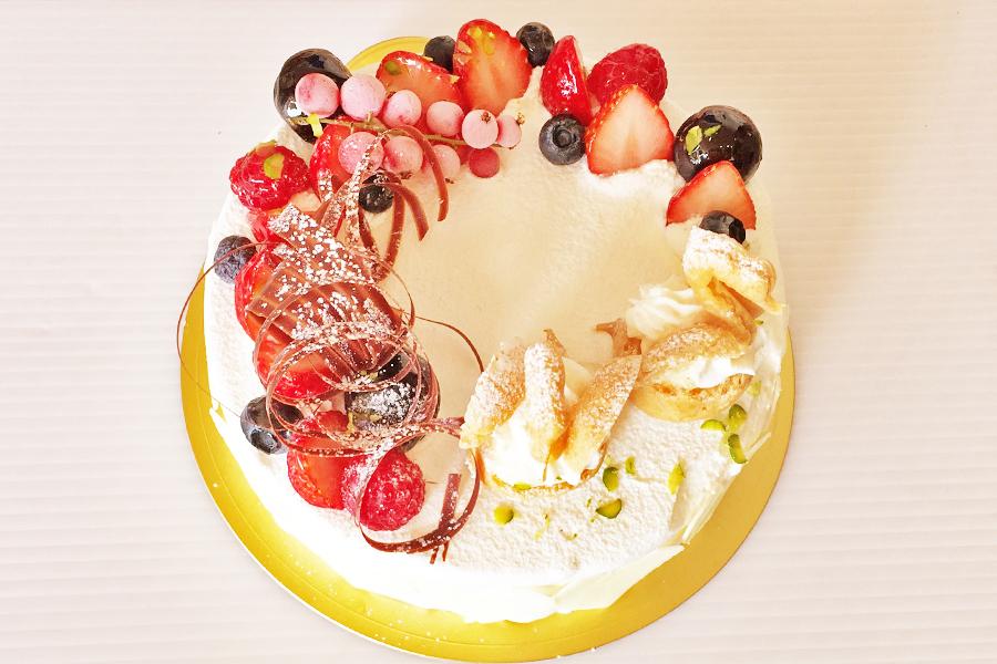 レアチーズケーキの商品写真