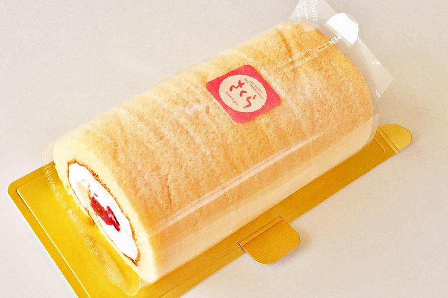 桜のロールケーキの商品写真