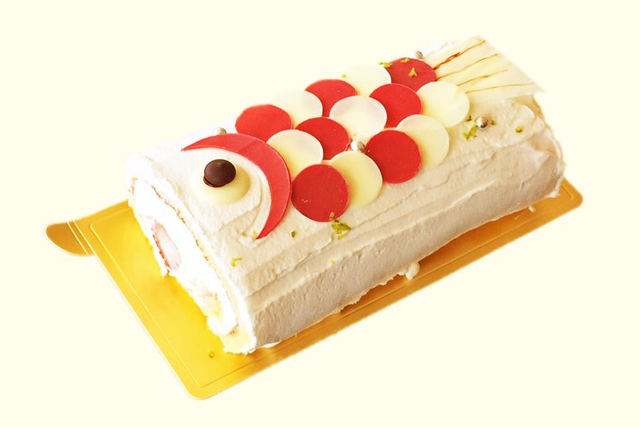 こいのぼりケーキ(イチゴ)の商品写真