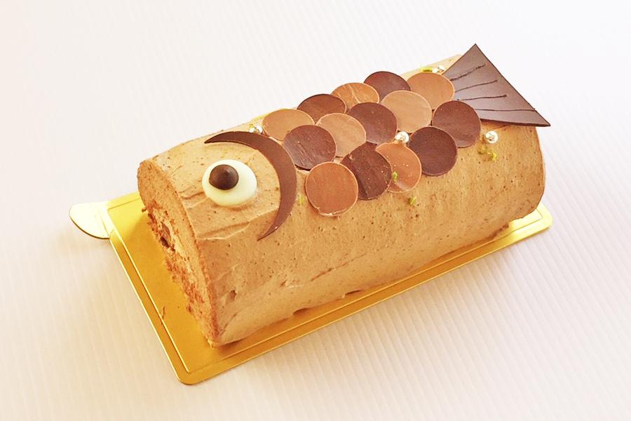 こいのぼりケーキ(チョコ)の商品写真