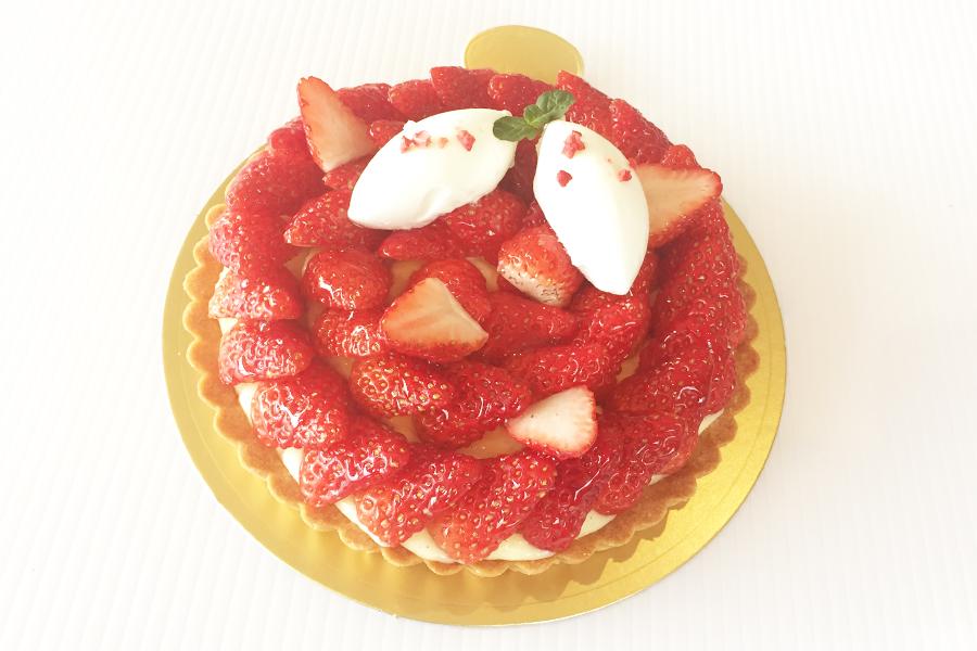 イチゴのタルトの商品写真