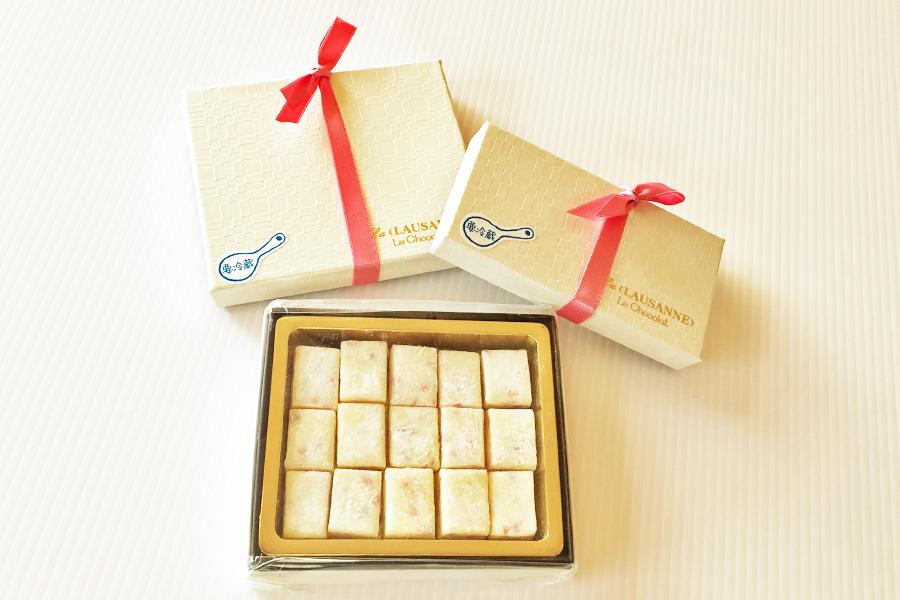 ホワイト生チョコの商品写真