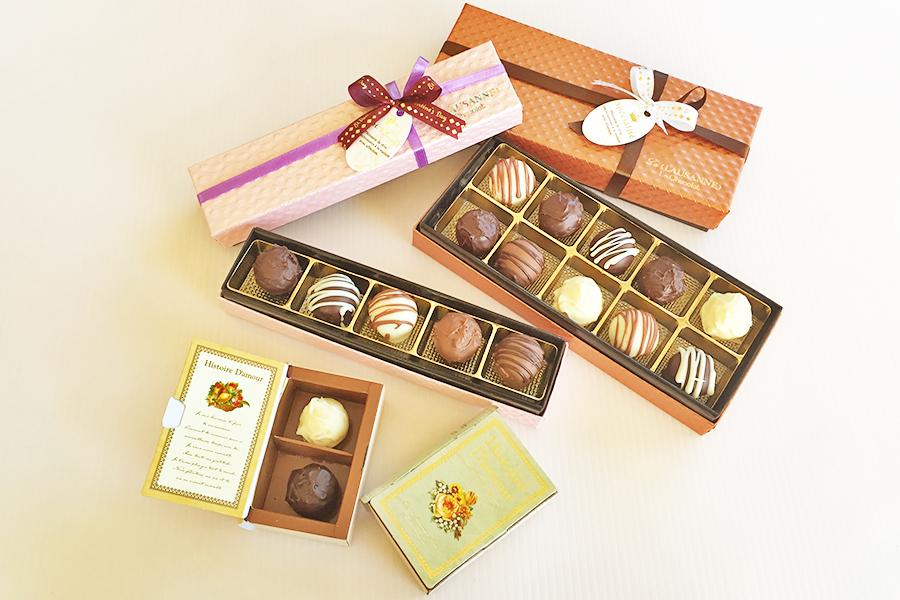 トリュフチョコレートの商品写真