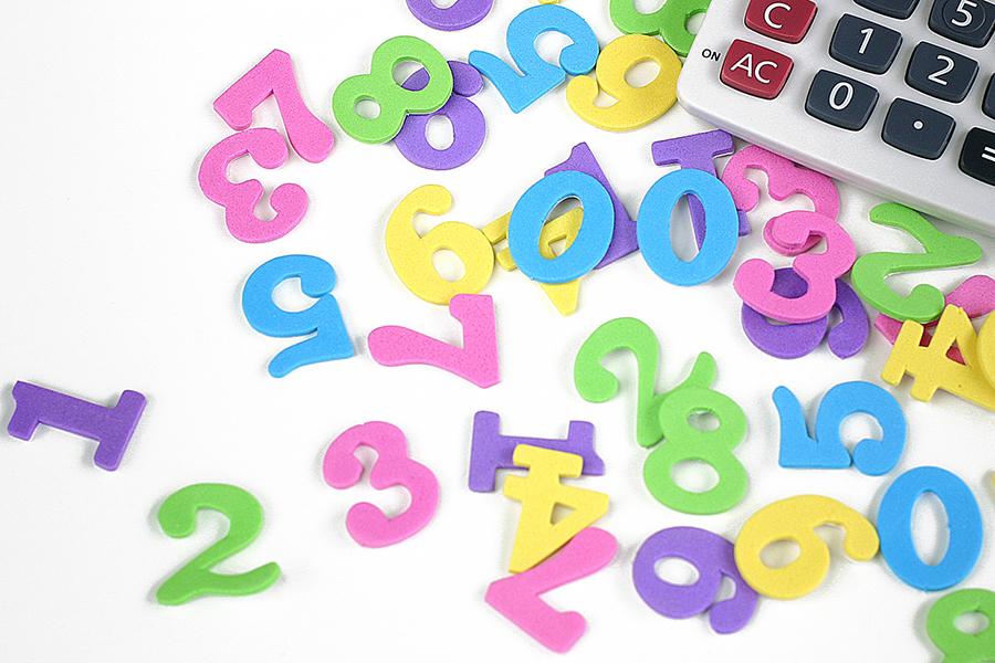 数字のパズルと電卓