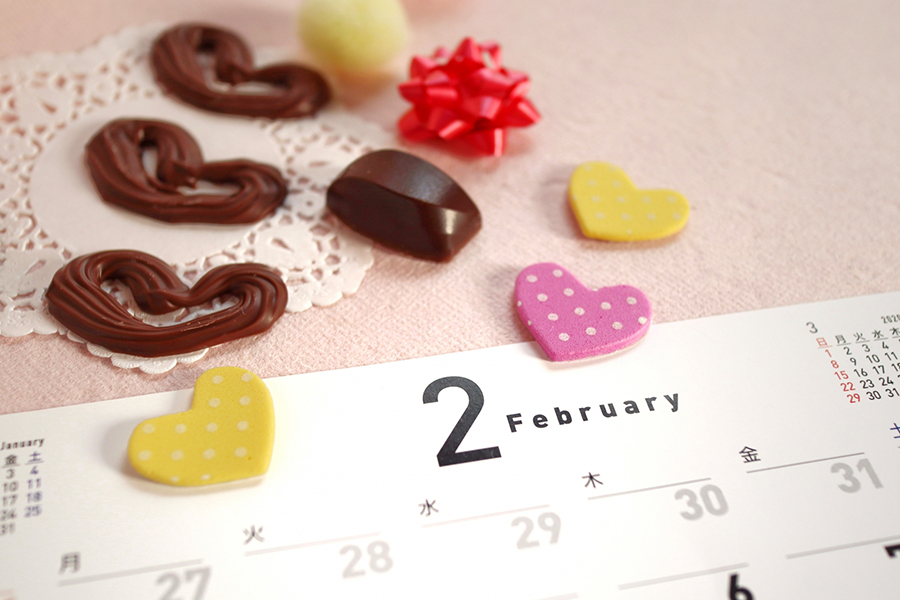 バレンタインのイメージ写真