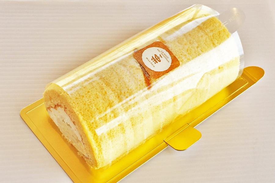 和栗のロールケーキの商品写真