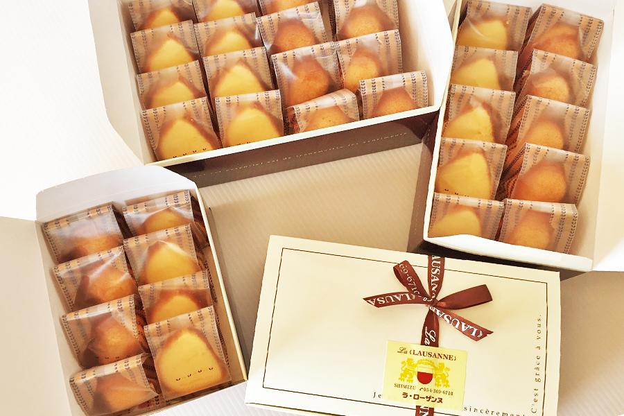 黒糖マドレーヌと純バターケーキの詰め合わせの商品写真