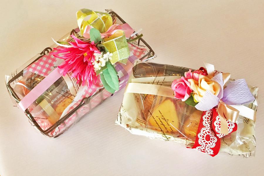 花かごギフトの商品写真