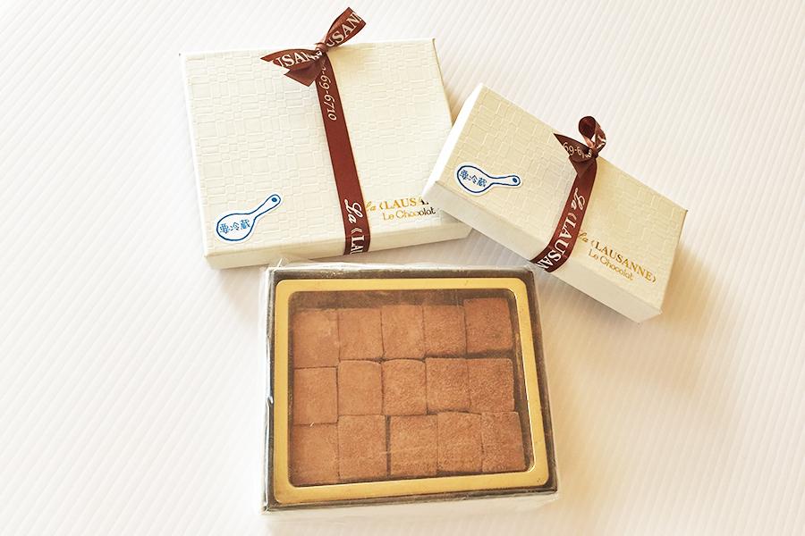 生チョコの商品写真
