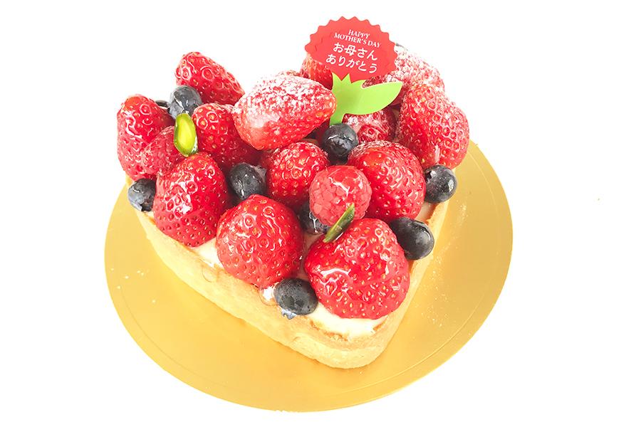 母の日のイチゴのケーキの商品写真