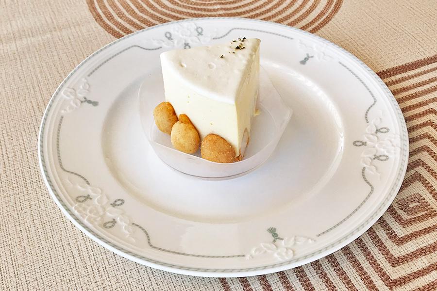 クランブルレアチーズケーキの商品写真