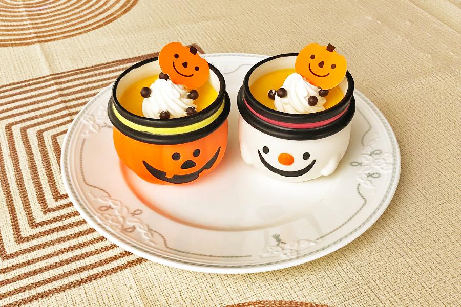 かぼちゃのプリンの商品写真